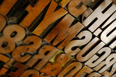 Wood Letter (Wood Type)