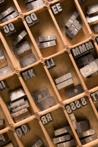 Type sorts standing up in a type case